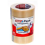 Ruban adhésif d'emballage PVC tesapack 5cm (l) x 66m (L) Transparent   3