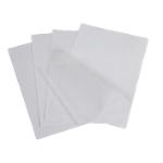 Pochettes de plastification adhésives 2 x 75 µm ELAMI A4   Transparent   100