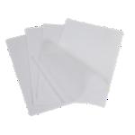 Pochettes de plastification à froid ELAMI 2 x 75 µm Transparent 100 Unités