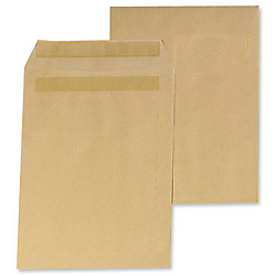 Pochettes kraft office depot c4 90 g m2 marron sans for Pellicule autocollante pour fenetre