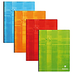 Grand Cahier   Clairefontaine   A4+   24 x 32 cm   Grands carreaux   192 pages broché   Coloris assortis