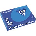 Clairefontaine   250 feuilles papier couleur Trophée A4 160g Turquoise