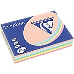 Clairefontaine   500 feuilles papier Trophée couleurs pastels assorties A4 80g
