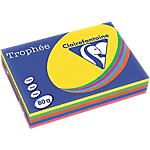 Clairefontaine   500 feuilles papier Trophée couleurs intenses assorties A4 80g