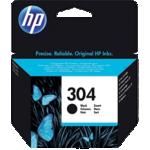 Cartouche jet d'encre HP D'origine 304 Noir