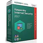 Logiciel Antivirus Kaspersky Internet Security 2017   1 an 5 postes