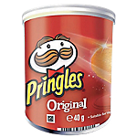 Boîtes de biscuits salés Pringles Original 40 g