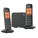 Téléphone Fixe Sans fil Gigaset C570 Duo Noir