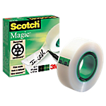 Rouleau de ruban adhésif   Scotch   Magic   19 mm x 33 m   invisible
