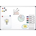 Tableau blanc laqué magnétique   Office DEPOT   180 x 90 cm