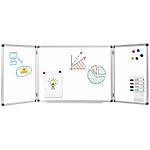 Tableau blanc triptyque   Office DEPOT   magnétique   60 x 90