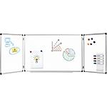 Tableau blanc triptyque   Office DEPOT   magnétique   90 x 120