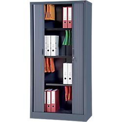 armoire portes a rideaux workpro tole d acier 7 10e 90 l x. Black Bedroom Furniture Sets. Home Design Ideas