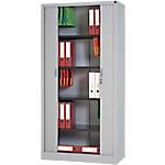 Armoire porte à rideaux WorkPro Tôle d'acier 100 (L) x 45 (l) x 198 (H) cm Aluminium