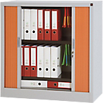 Armoire portes à rideaux WorkPro Acier 100 (L) x 45 (l) x 100 (H) cm Imitation poirier
