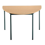 Table de réunion modulaire Sodematub Domino 120 x 60 x 74 cm Imitation Hêtre