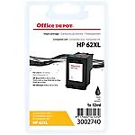 Cartouche jet d'encre Office Depot Compatible HP 62XL 3 Couleurs C2P05AE