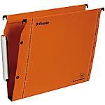 Dossiers suspendus pour armoires Esselte 49925 Orange   25
