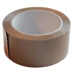 Ruban adhésif Polypropylène bi orienté Rubaflex 5cm (l) x 66m (L) 35 µm Havane