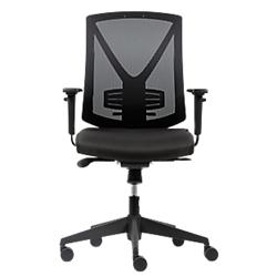 siege de bureau mecanisme synchrone polypropylene realspace karl noir par office depot. Black Bedroom Furniture Sets. Home Design Ideas