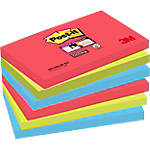 Notes repositionnables Post it Super Sticky 76 (H)  x  127 (l) mm 70 g