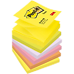 Notes repositionnables Post it Z Notes 76 (H)  x  76 (l) mm 70 g