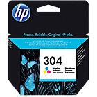 Cartouche jet d'encre HP D'origine 304 3 Couleurs N9K05AE
