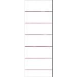 10 Etiquettes réinscriptibles   Office DEPOT   pour classeurs à levier dos 80 mm