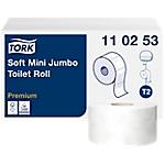 12 Rouleaux de papier toilette   Tork   Mini Jumbo