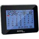 Calendrier horloge TechnoLine 12cm (l) Noir