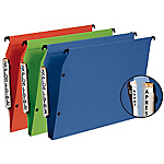 Dossiers suspendus pour armoire Esselte VisioPlus Bleu   10