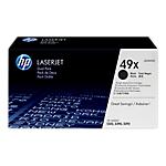 Toner HP D'origine 49X Noir Q5949XD Paquet 2