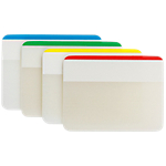 Index   marques pages Post it Durable 3,8 (H) x 5,08 (l) cm Assortiment   24 index