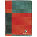 Petit Cahier double spirale   Clairefontaine    A5+   170 x 220 cm   Grands carreaux   100 pages