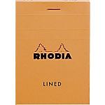 Bloc de bureau   Rhodia   74 x 105 mm   petits carreaux   A7