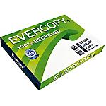 Carton de 5 ramettes de papier 100% recyclé de 500 feuilles   Evercopy+   A3   80g