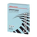 Ramette de papier couleur bleu pastel de 250 feuilles   Office Depot   A4   160g