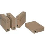 Boîtes archives FAST 4804X10 25 (H) x 33 (l) x 8 (P) cm Carton Kraft   10