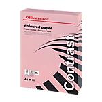 Ramette de papier couleur rose pastel de 250 feuilles   Office Depot   A4   160g