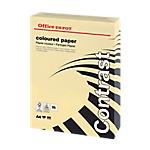 Ramette de papier couleur creme pastel de 250 feuilles   Office Depot   A4   160g