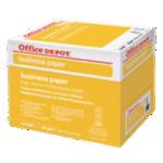 Papier Office Depot A4 80 g/m² Blanc Business - 5 Paquets de 500 Feuilles