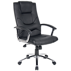 fauteuil croute de cuir rs to go rotterdam par office depot. Black Bedroom Furniture Sets. Home Design Ideas