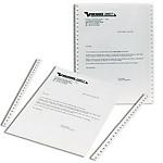 Papier listing Blanc Niceday 380 (H) x 279,4 (l) mm   2000 feuilles