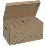 Container pour boites archives FAST Nature Line 35 (H) x 52 (l) x 26 (P) cm 100% carton recyclé Marron   Dimensions : (H x l x L) en cm : 26 x 35 x 52,6.