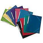 Chemise 3 rabats à élastique   Elba   opaque rouge