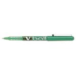 Roller à encre liquide   Pilot   Métal V Ball   Pointe fine   Vert