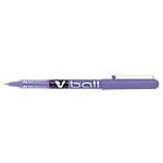 Roller à encre liquide   Pilot   Métal V Ball   Pointe fine   Violet