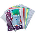 Pochettes perforées ELBA A4 Transparent   10