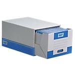 Container pour boites archives FAST 4950X10 14 (H) x 28 (l) x 36,5 (P) cm Carton Blanc   Dimensions : (H x l x L) en cm : 14 x 28 x 36,5.