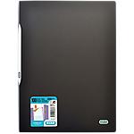 Protège documents polypropylène rigide 200 vues A4  Noir